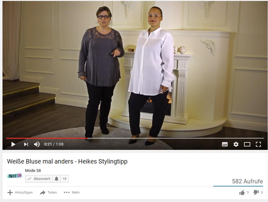Video-Bluse